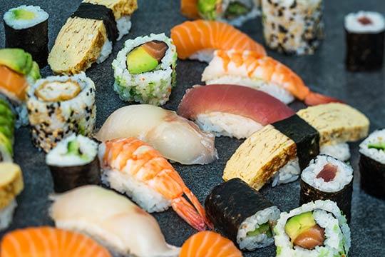 Distributeur de sushi restaurant suisse